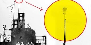 Giải mã cây chổi kỳ lạ treo trên tàu ngầm Mỹ