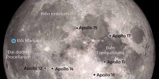 Phát hiện hang động ngầm dài 50 km và rộng 100 mét ở Mặt Trăng