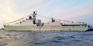 Tàu Hải quân Việt Nam tham gia diễn tập biển đa phương