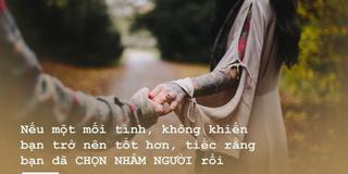 Đọc 9 điều dưới đây để thấy yêu đúng người là như thế nào?