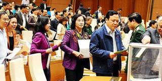 Không lấy phiếu tín nhiệm Chủ tịch nước và Bộ trưởng TT&TT