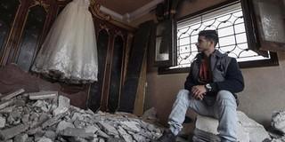 Chuyện tình xuyên biên giới trong bom đạn không kích Israel