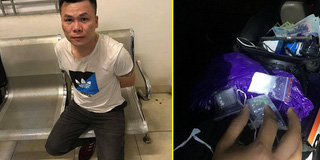 Đi xe máy không biển mang theo ma túy, nam thanh niên bị cảnh sát 141 tóm gọn