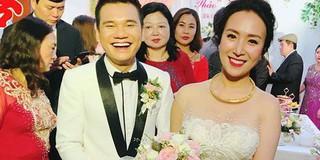 Khắc Việt rạng rỡ bên bà xã xinh đẹp tại đám cưới ở quê nhà Yên Bái