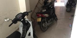 Nữ phóng viên tá hoả phát hiện mất xe máy sau đêm bóng đá World Cup