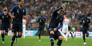 Giải mã cách ăn mừng kỳ lạ của Griezmann sau khi ghi bàn tại chung kết World Cup 2018