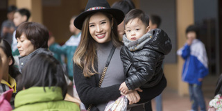 """Phan Hoàng Thu: """"Một người mẹ thành công là khi con mạnh khỏe và có trái tim nhân hậu"""""""