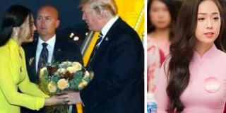 Những nữ sinh vừa xinh vừa giỏi từng gây sốt khi được tặng hoa cho Tổng thống, Thủ tướng các quốc gia đến thăm Việt Nam