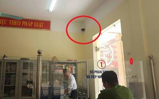 Camera phường Văn Miếu gặp trục trặc, chuyển đi toàn bộ dữ liệu để làm rõ