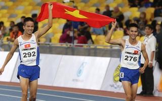 """Tổng kết SEA Games 29 ngày 23/8: Việt Nam """"càn quét"""" sân điền kinh, giành liền 3 HCV"""