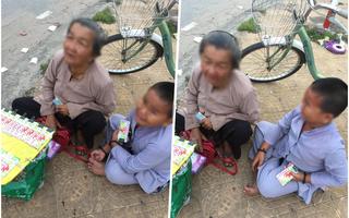Tiếng khóc xé lòng của bà cháu bán vé số dạo bị cướp giữa đường