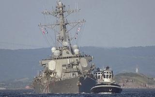 """Tàu khu trục Mỹ bị đâm: Lộ thêm """"tử huyệt"""" của hệ thống phòng thủ tên lửa Aegis"""