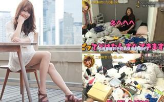 """Mỹ nữ """"vạn người mê"""" Nhật Bản: Sống trong căn phòng 10 mét vuông, ngập ngụa rác thải"""