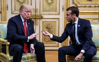 """Chưa nguôi thịnh nộ, TT Trump lại tiếp tục """"vỗ mặt"""" tới tấp TT Macron và đồng minh châu Âu"""