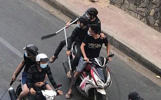 Vụ 30 thanh niên cầm mã tấu truy sát ở Sài Gòn: Bắt giam 5 đối tượng