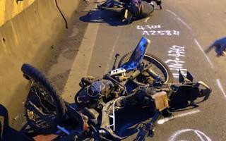 Ô tô bán tải tông liên tiếp 3 xe máy khiến 2 người chết, 1 người bị thương nặng