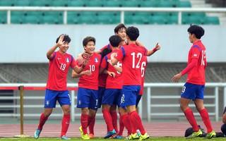 """""""Hủy diệt"""" đội bóng Trung Đông, U23 Hàn Quốc gieo sầu cho thầy trò HLV Park Hang-seo"""