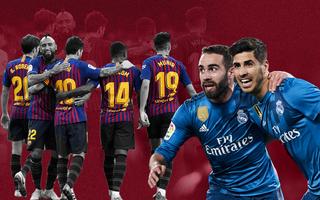 Barca và Real Madrid đang đổi chỗ cho nhau theo cách không ai tin nổi