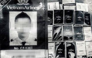 Bắt giữ cơ trưởng Vietnam Airlines để điều tra hành vi buôn lậu