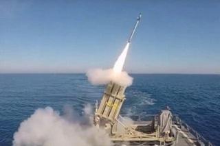 Lập công lớn, hệ thống phòng thủ Vòm Sắt Israel bắn hạ tên lửa phóng từ Syria