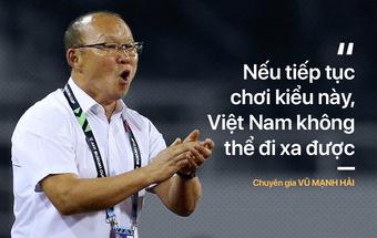 Việt Nam xấu xí, Quang Hải kém cỏi, U23 ăn may... chẳng phải là điều HLV Park cần sao?
