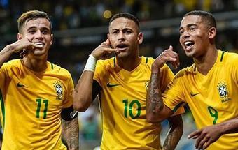 """""""Vận may năm Tuất"""" sẽ giúp Brazil vô địch World Cup 2018?"""