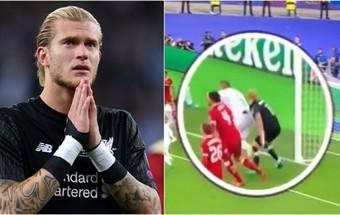 """3 phút trước sai lầm định mệnh, thủ môn Liverpool đã bị Ramos hạ """"độc thủ"""""""