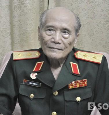 Tướng Phạm Hồng Cư khóc thương Thượng tướng Nguyễn Nam Khánh