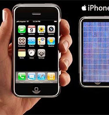 iPhone 6 có thể sạc pin bằng năng lượng mặt trời