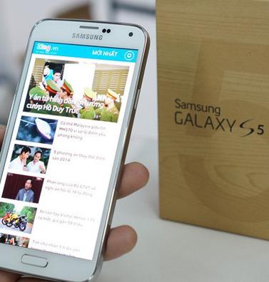 Bắt đầu được đặt hàng Galaxy S5 từ Việt Nam