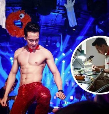 Cuộc sống khó tin của hot boy Việt: Ngày sửa điện thoại, tối làm vũ công nóng bỏng