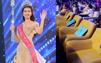 Vương miện của tân Hoa hậu và chiếc ghế 25 triệu đồng