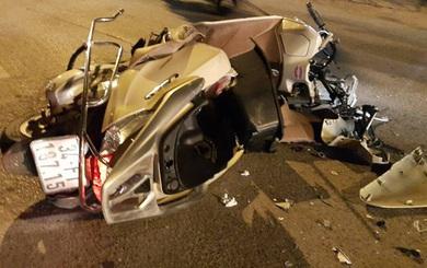 Tài xế lái Camry bỏ chạy kéo theo xe máy dưới gầm hơn 3km mới chịu dừng lại