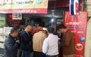 Vị khách chi 40 triệu đồng mua vé số Vietlott ở Hà Nội đã trúng thưởng