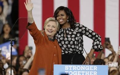 Michelle Obama - Vũ khí lợi hại nhất của Hillary Clinton