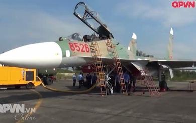 Chính thức công bố thời hạn phục vụ còn lại của tiêm kích Su-27 8526