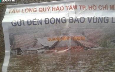 Vụ thu tiền hỗ trợ lũ lụt: Cán bộ đến nhà từng người dân xin lỗi, trả lại tiền
