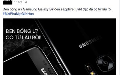 Samsung Việt Nam châm chọc iPhone 7 gây tranh cãi
