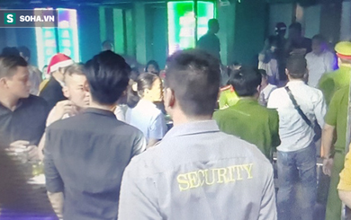 Hàng chục dân chơi ma túy thác loạn trong 2 quán bar lớn