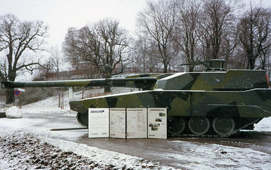 Stridsvagn 2000 - Xe tăng chiến đấu chủ lực cỡ nòng lớn của Thụy Điển