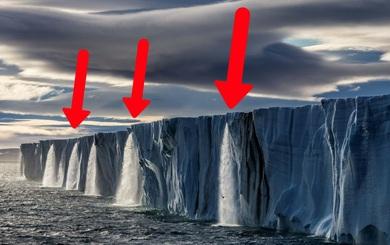 Sự thật về tảng băng khổng lồ, nặng 1.000 tỷ tấn ở Nam Cực vỡ ra đã được khoa học lý giải