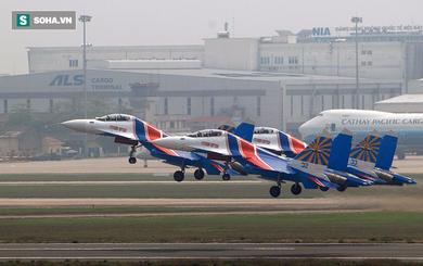 Những điều đặc biệt về hành trình đến Việt Nam của phi đội Su-30SM Hiệp sĩ Nga