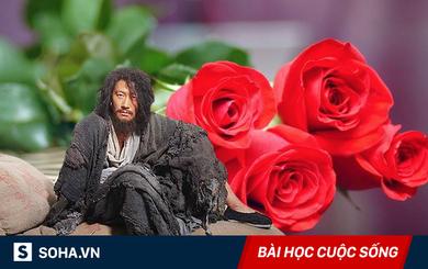 Được tặng một bó hoa hồng, gã ăn xin nhanh chóng trở thành người không ai ngờ đến!