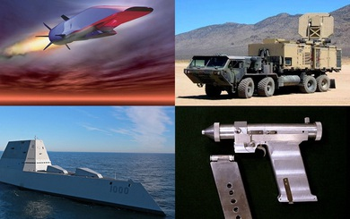 Bộ tứ vũ khí có thể thay đổi cục diện cuộc chiến tương lai