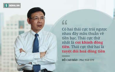 Việt Nam nghèo vì mâu thuẫn tiền bạc. Chúng ta vừa khinh đồng tiền, nhưng cũng coi tiền là tất cả