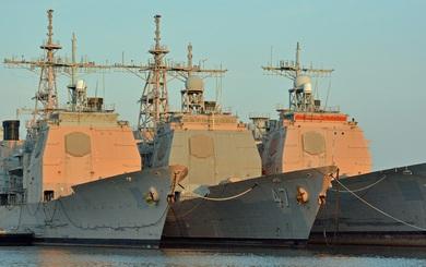 """Tuần dương hạm Ticonderoga bị loại biên """"tái xuất"""" sớm nhờ tai nạn của tàu khu trục?"""
