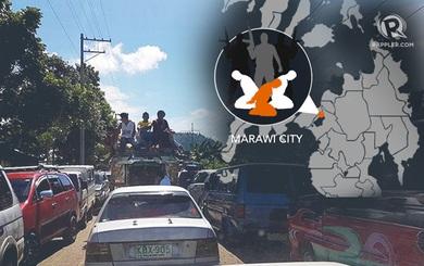 Philippines: Phiến quân bắt cóc con tin, người dân Marawi dồn dập di tản khỏi thành phố