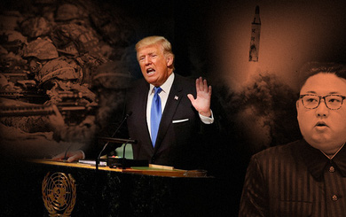 """Toan tính của ông Trump khi mạnh miệng đòi """"hủy diệt"""" Triều Tiên tại LHQ"""