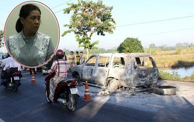 """CA Hậu Giang: Con gái thuê người đốt xe khiến cha chết vì mâu thuẫn """"tranh chấp về tài sản"""""""