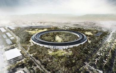 Toàn cảnh Apple xây dựng khuôn viên 5 tỷ USD trong vòng 18 giây